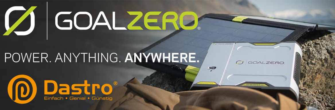 GoalZero - Power. Anything. Anywhere.