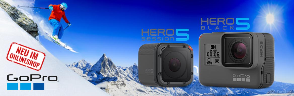 GoPro Produkte im Überblick